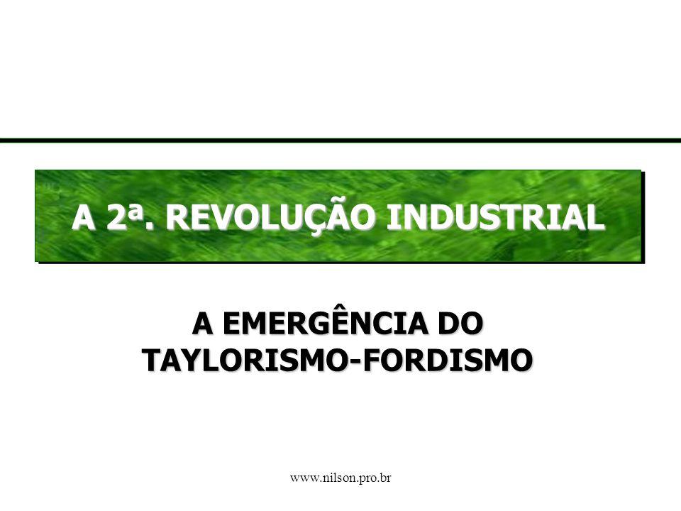 A EMERGÊNCIA DO TAYLORISMO-FORDISMO