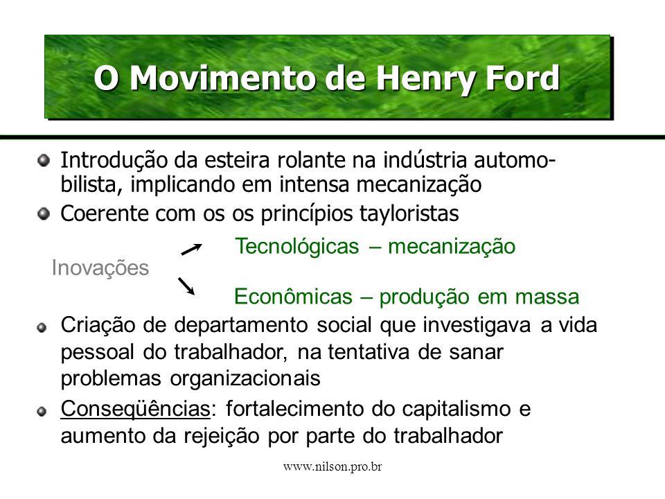 O Movimento de Henry Ford