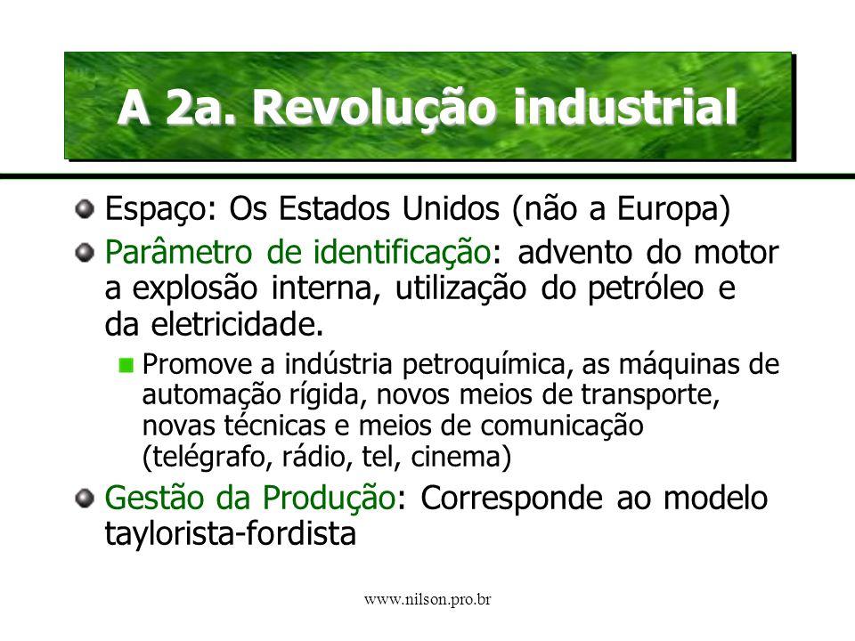 A 2a. Revolução industrial