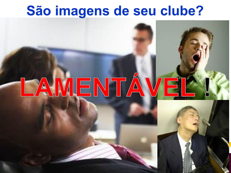São imagens de seu clube