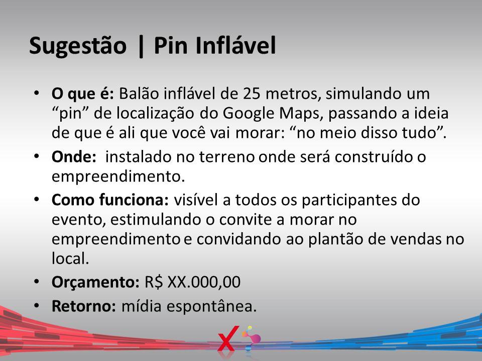 Sugestão | Pin Inflável