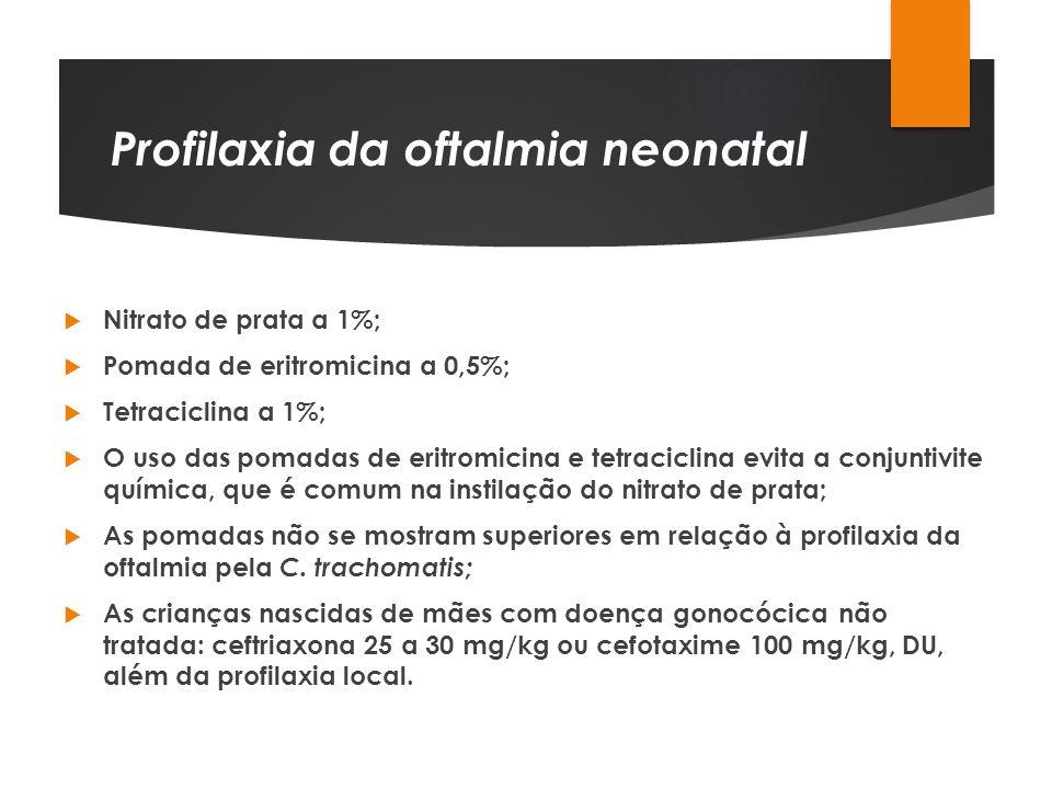 Profilaxia da oftalmia neonatal