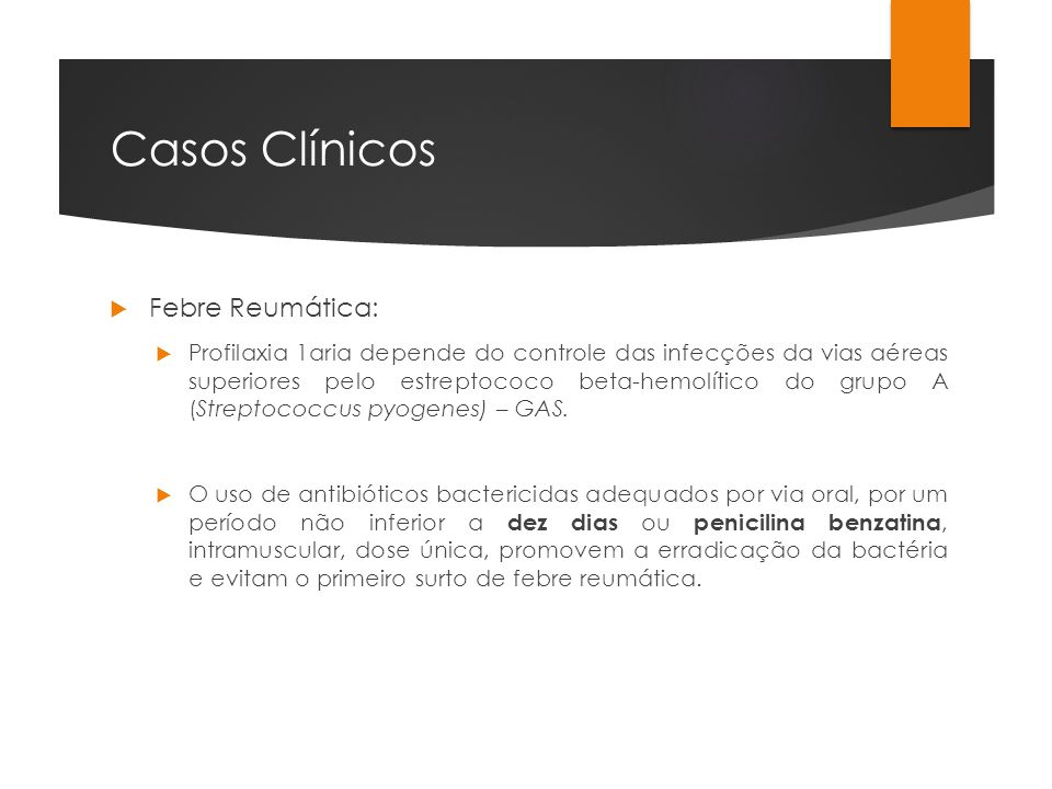 Casos Clínicos Febre Reumática: