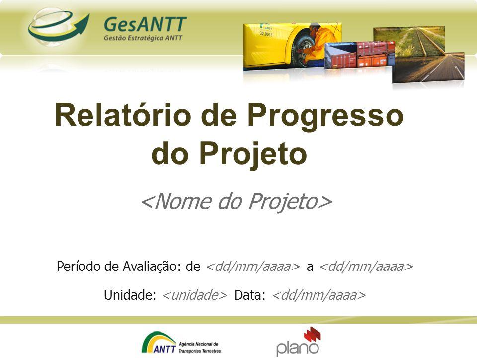 Relatório de Progresso do Projeto
