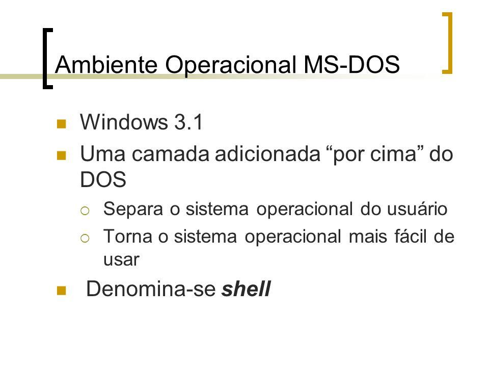 Ambiente Operacional MS-DOS