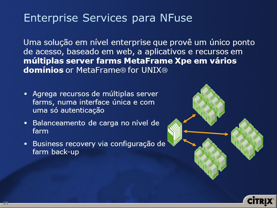 Enterprise Services para NFuse