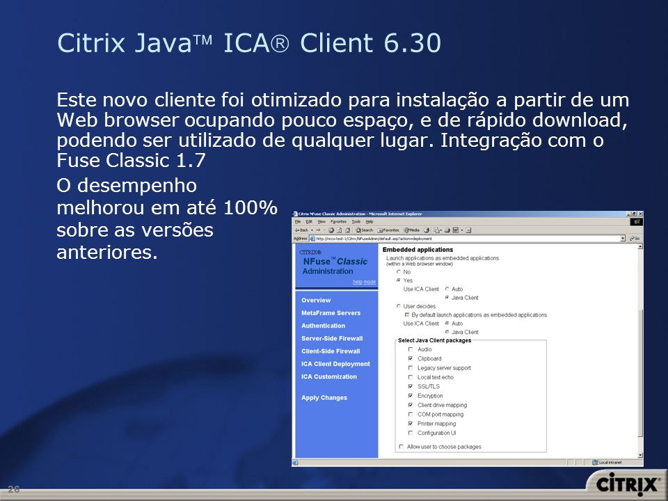 Citrix Java ICA Client 6.30