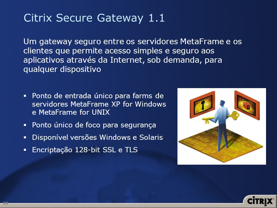 Citrix Secure Gateway 1.1