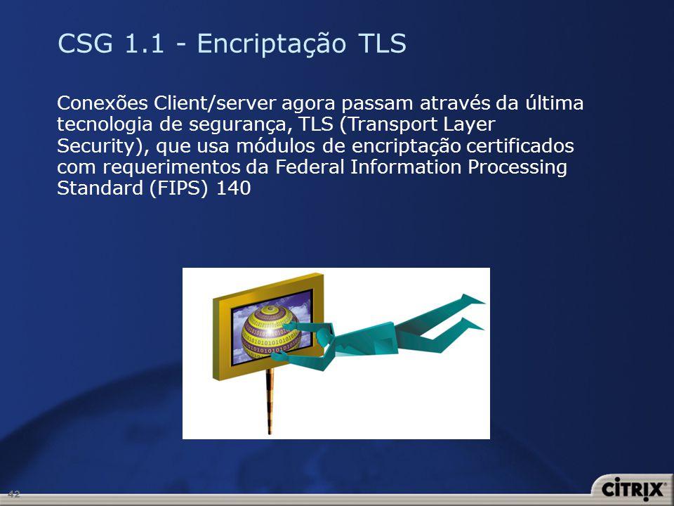 CSG 1.1 - Encriptação TLS