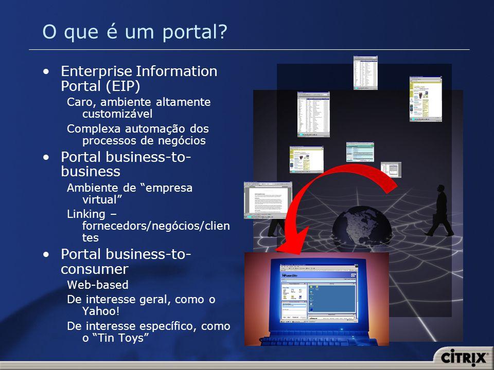 O que é um portal Enterprise Information Portal (EIP)