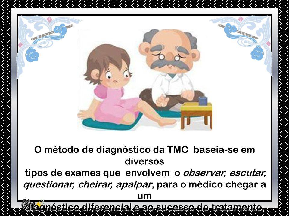 O método de diagnóstico da TMC baseia-se em diversos