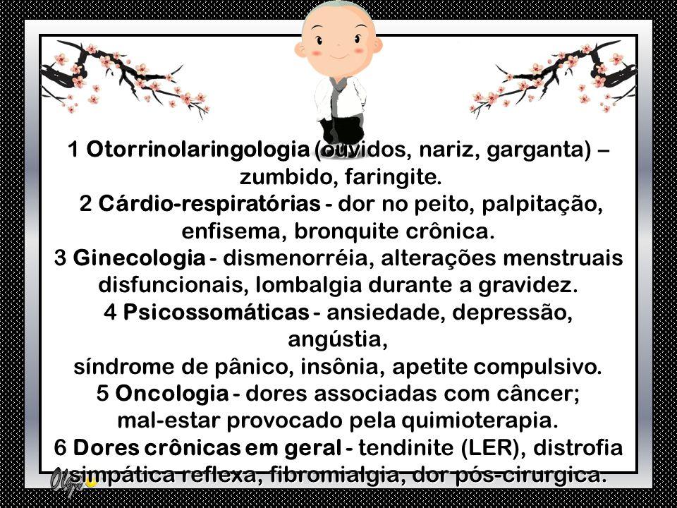 1 Otorrinolaringologia (ouvidos, nariz, garganta) –