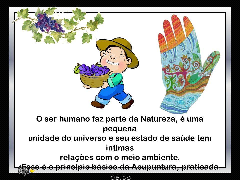 O ser humano faz parte da Natureza, é uma pequena