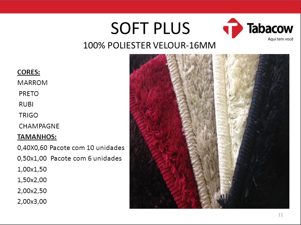 SOFT PLUS 100% POLIESTER VELOUR-16MM CORES: MARROM PRETO RUBI TRIGO