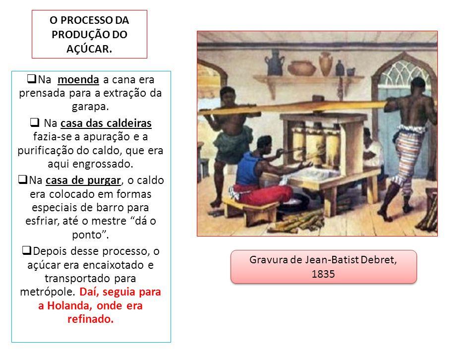 O PROCESSO DA PRODUÇÃO DO AÇÚCAR.