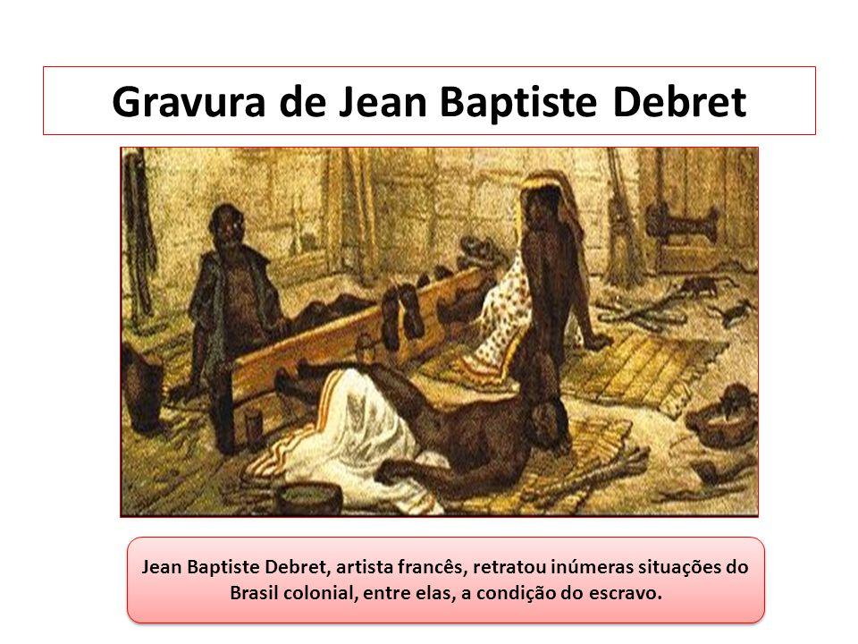 Gravura de Jean Baptiste Debret