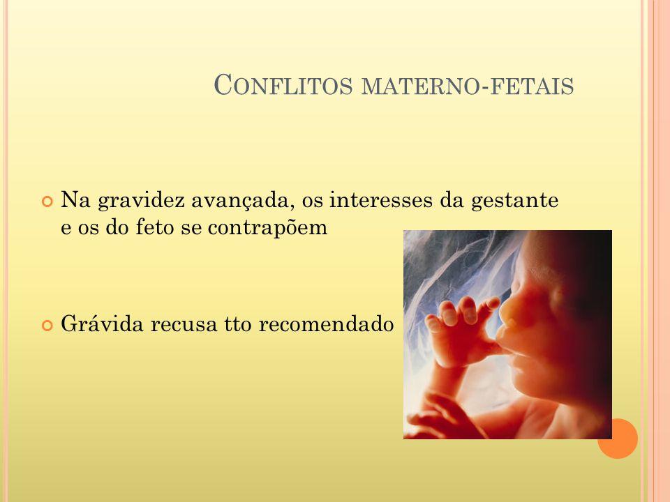 Conflitos materno-fetais