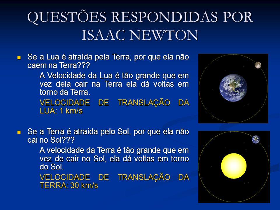 QUESTÕES RESPONDIDAS POR ISAAC NEWTON