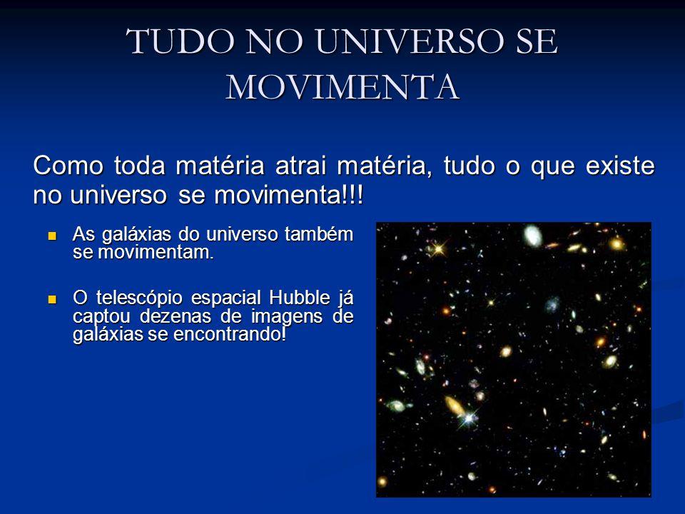 TUDO NO UNIVERSO SE MOVIMENTA