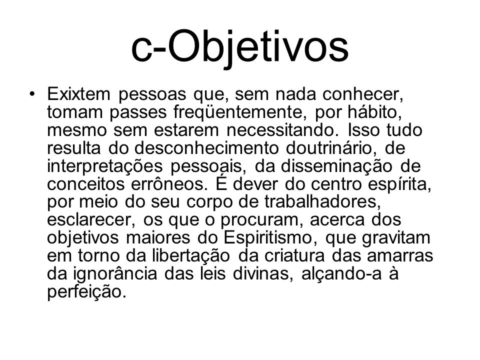 c-Objetivos