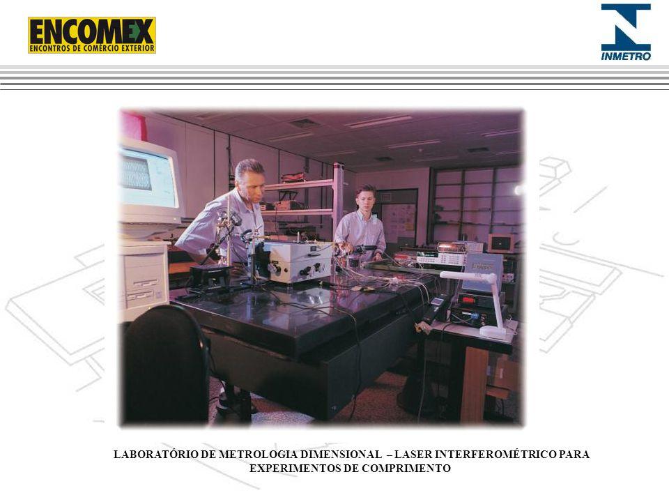 LABORATÓRIO DE METROLOGIA DIMENSIONAL – LASER INTERFEROMÉTRICO PARA EXPERIMENTOS DE COMPRIMENTO