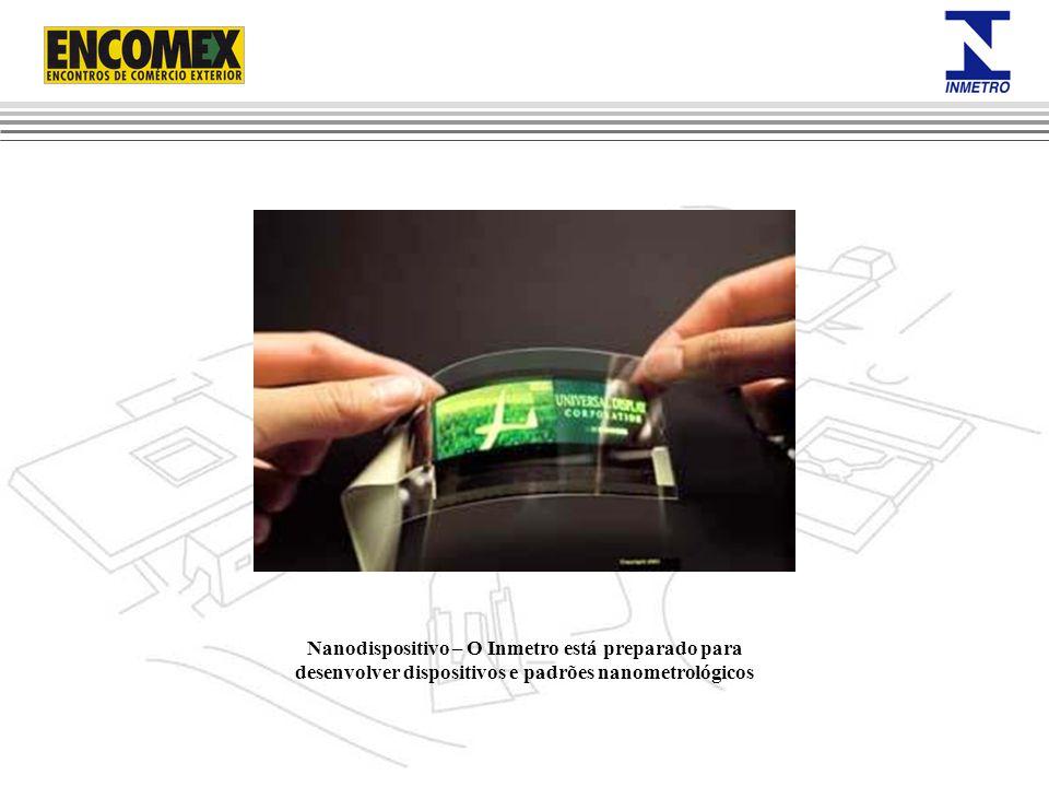 Nanodispositivo – O Inmetro está preparado para desenvolver dispositivos e padrões nanometrológicos