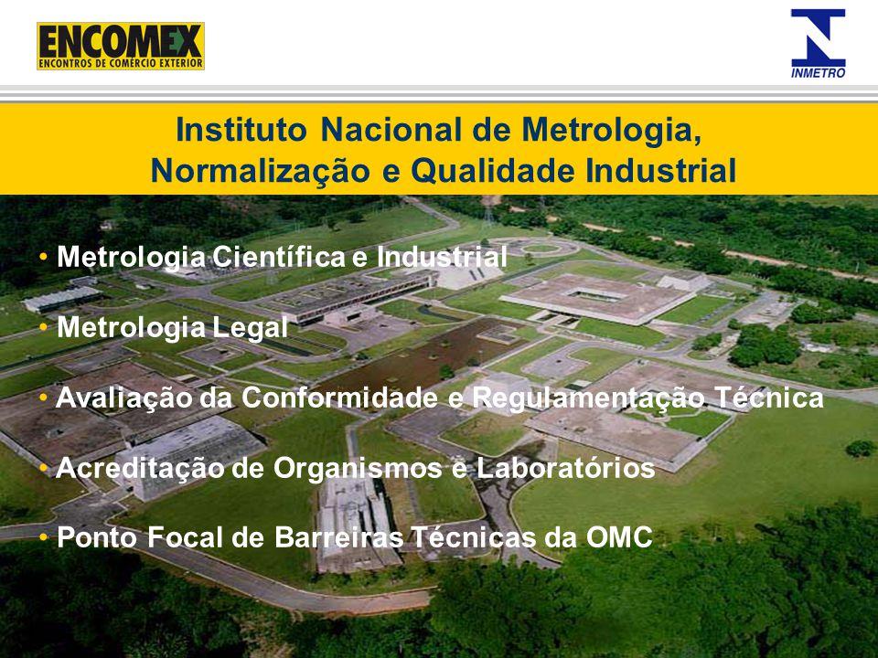 Instituto Nacional de Metrologia, Normalização e Qualidade Industrial