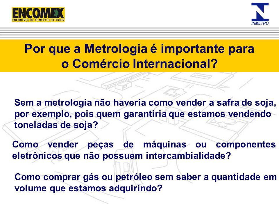 Por que a Metrologia é importante para o Comércio Internacional