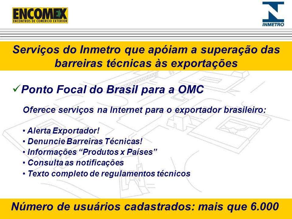 Ponto Focal do Brasil para a OMC