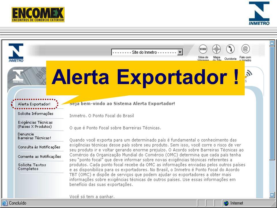 Alerta Exportador ! 37