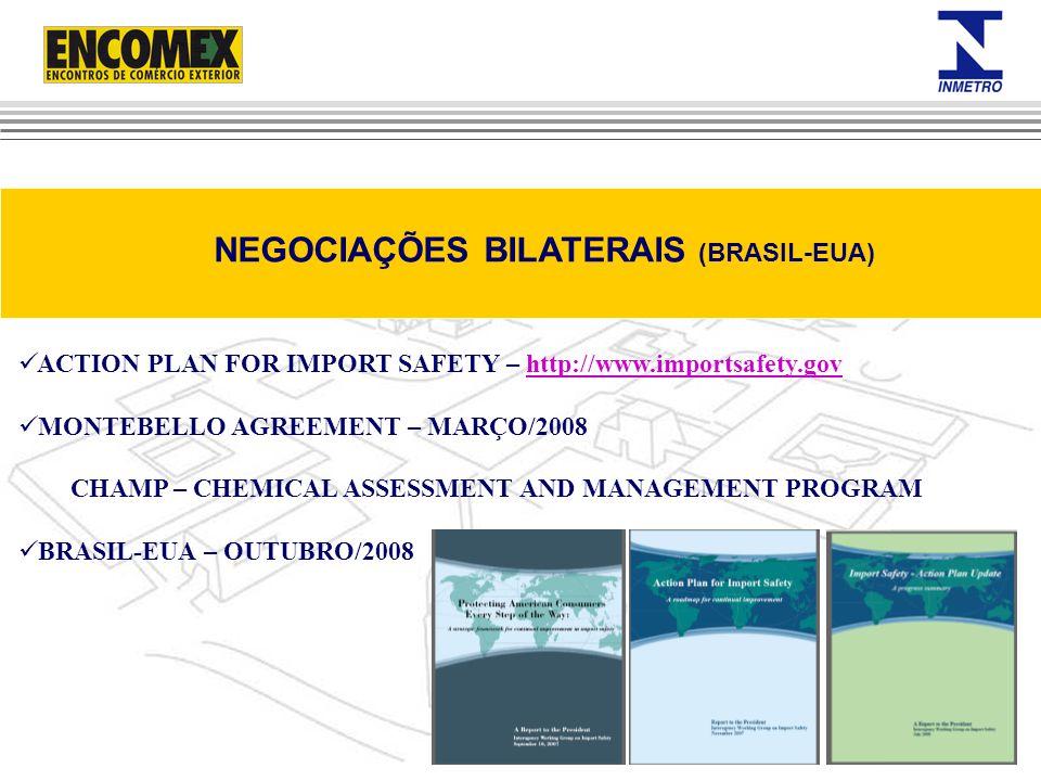 NEGOCIAÇÕES BILATERAIS (BRASIL-EUA)