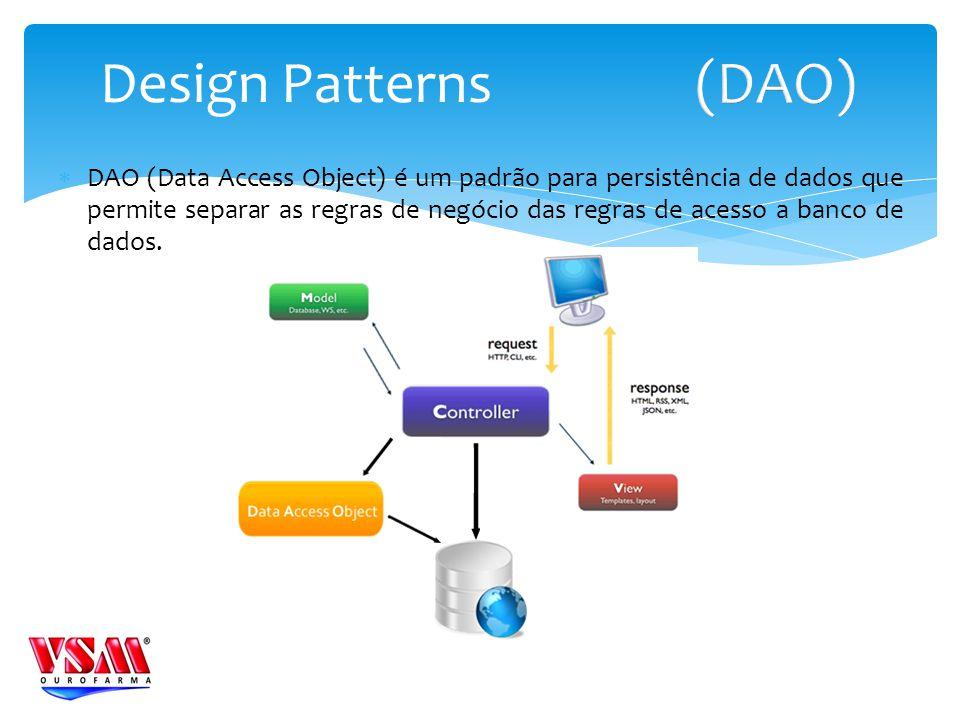 Design Patterns (DAO)
