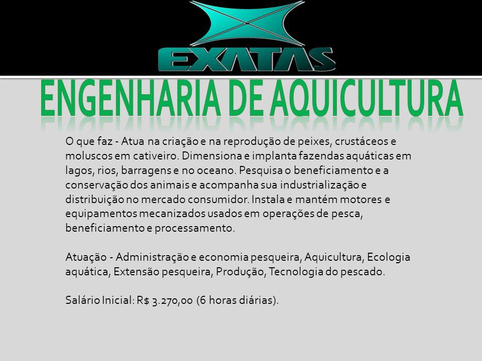 Engenharia de aquicultura