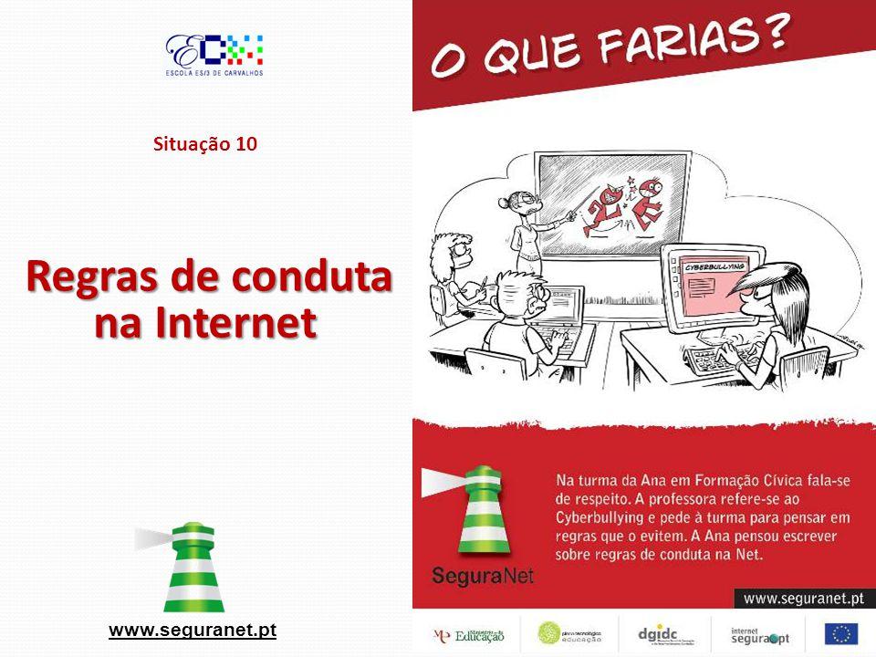 Regras de conduta na Internet