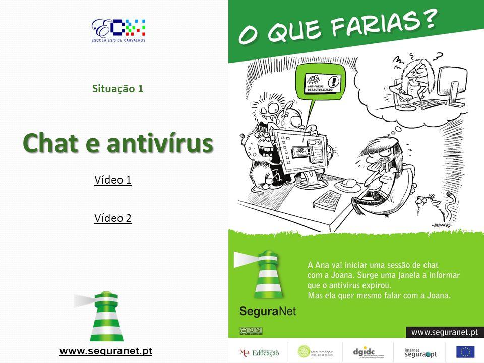 Situação 1 Chat e antivírus