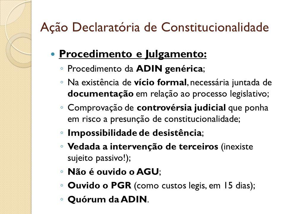 Ação Declaratória de Constitucionalidade