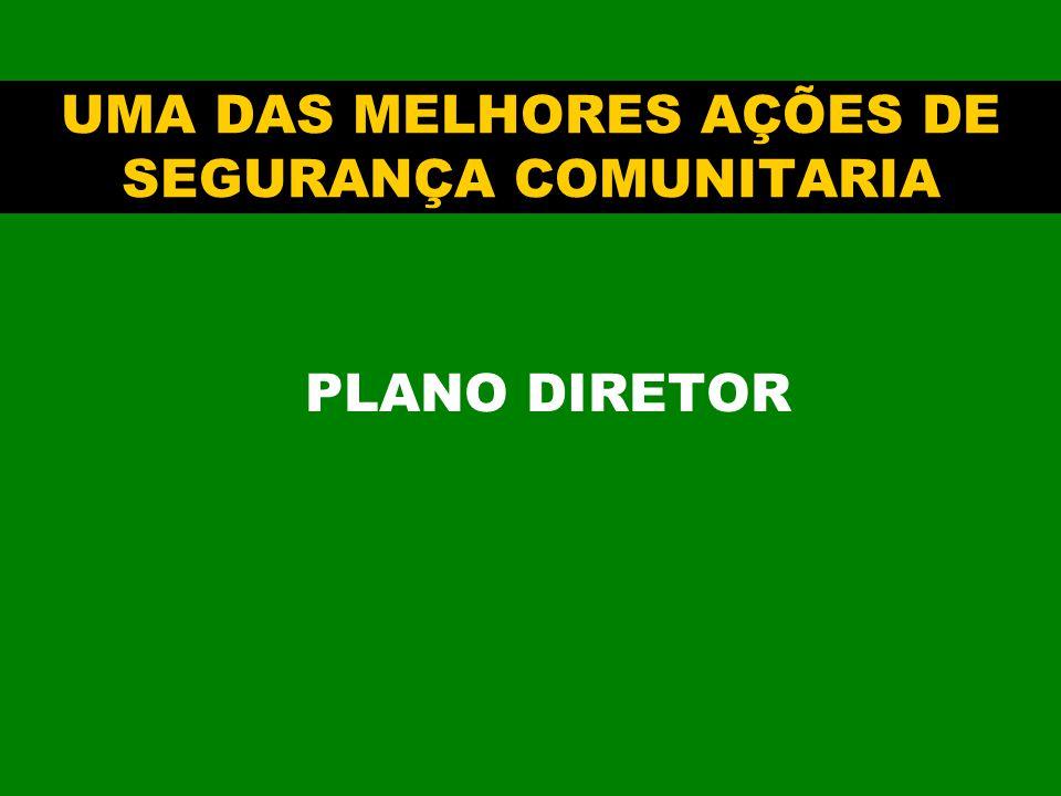 UMA DAS MELHORES AÇÕES DE SEGURANÇA COMUNITARIA