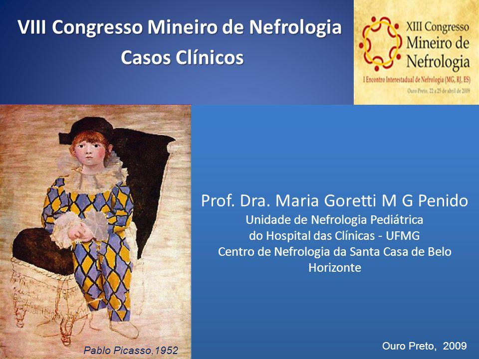 VIII Congresso Mineiro de Nefrologia Casos Clínicos