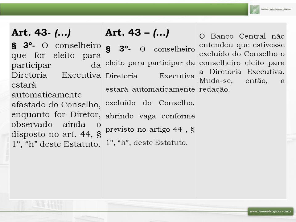 Art. 43- (...)