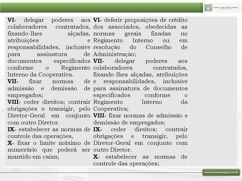 VII- fixar normas de admissão e demissão de empregados;