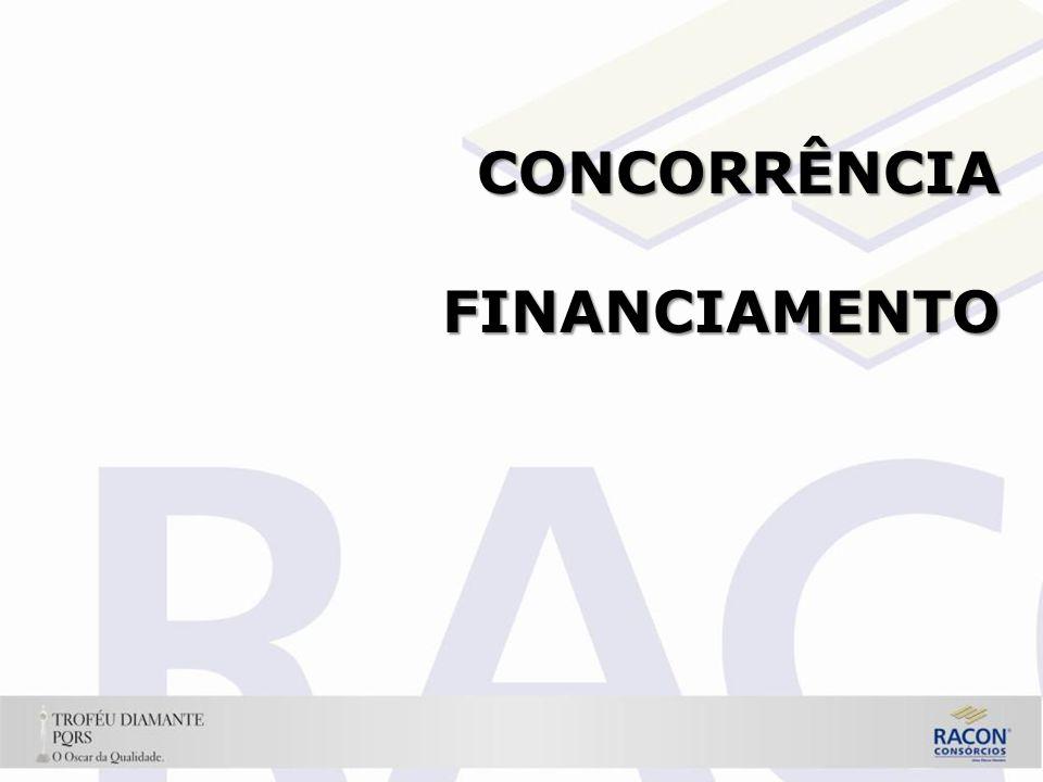 CONCORRÊNCIA FINANCIAMENTO