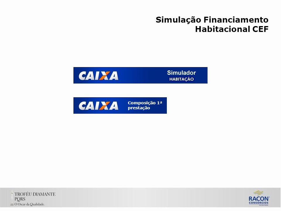 Simulação Financiamento Habitacional CEF