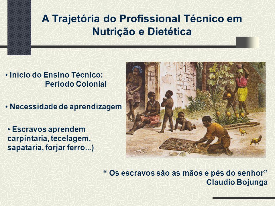Início do Ensino Técnico: