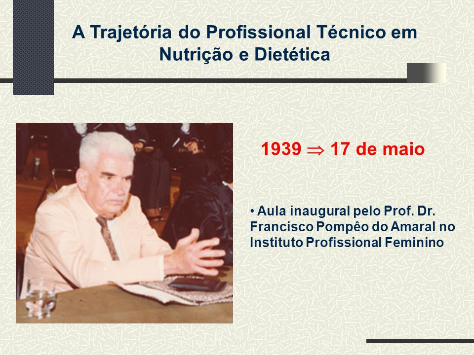 1939  17 de maio Aula inaugural pelo Prof. Dr.