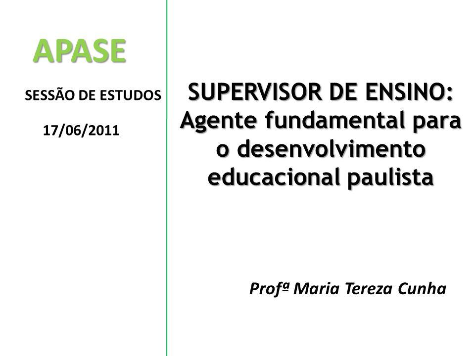 Agente fundamental para o desenvolvimento educacional paulista