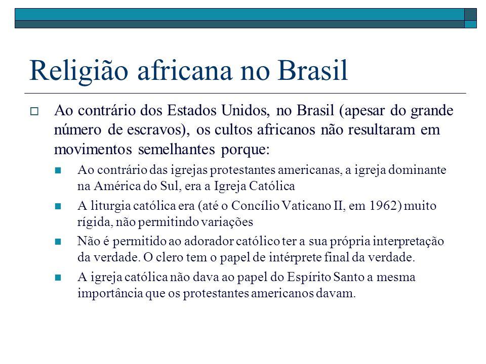 Religião africana no Brasil