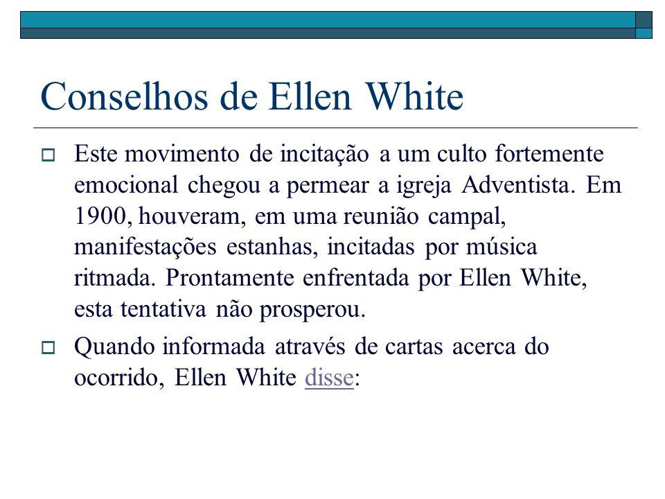 Conselhos de Ellen White