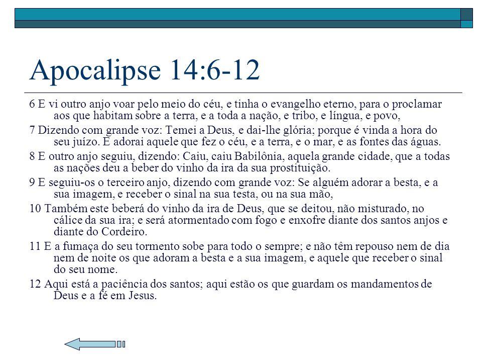Apocalipse 14:6-12
