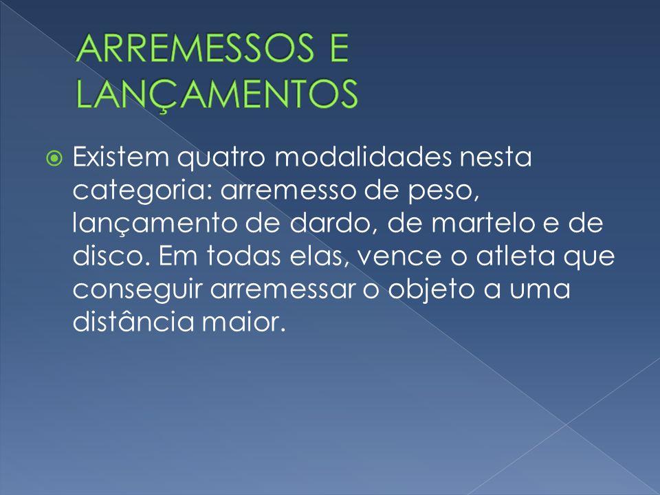 ARREMESSOS E LANÇAMENTOS