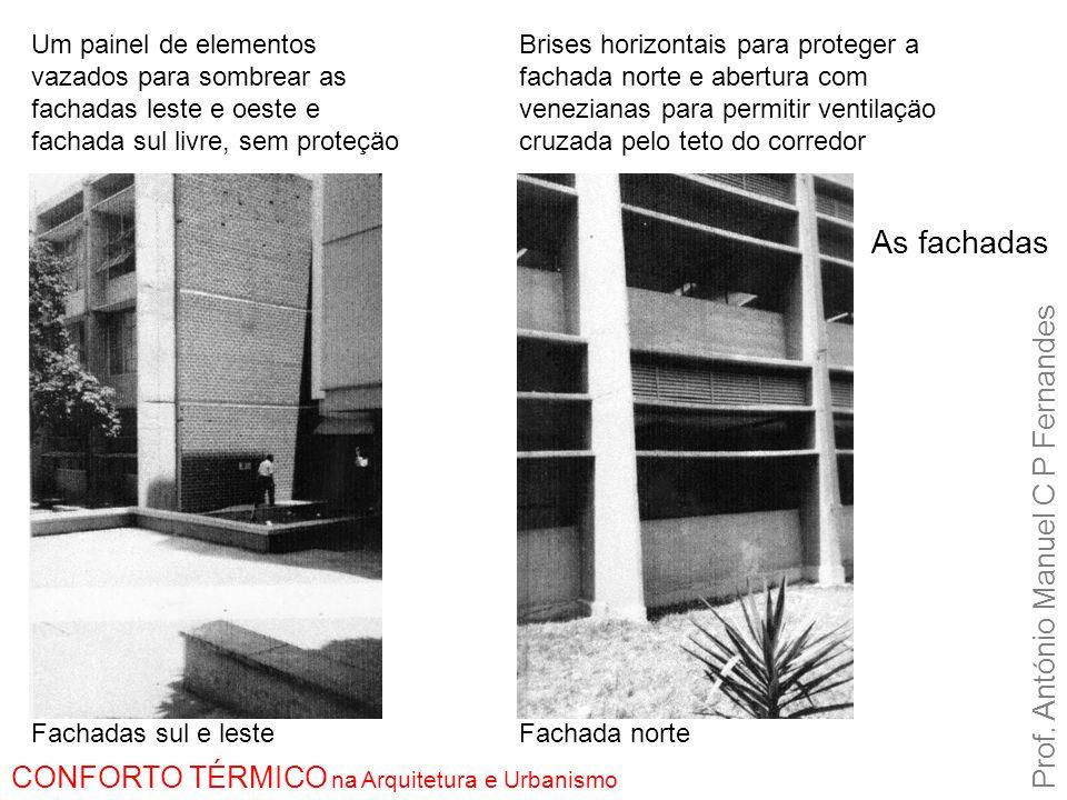 As fachadas Prof. António Manuel C P Fernandes